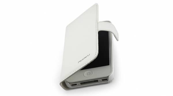 Bao da iPhone 4 mở ngang Nuoku 4