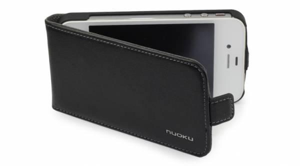 Bao da iPhone 4 Nuoku ( da trơn ) 1