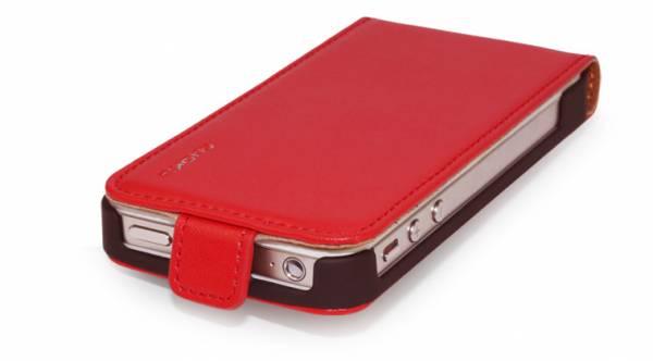 Bao da iPhone 4 Nuoku ( da trơn ) 7