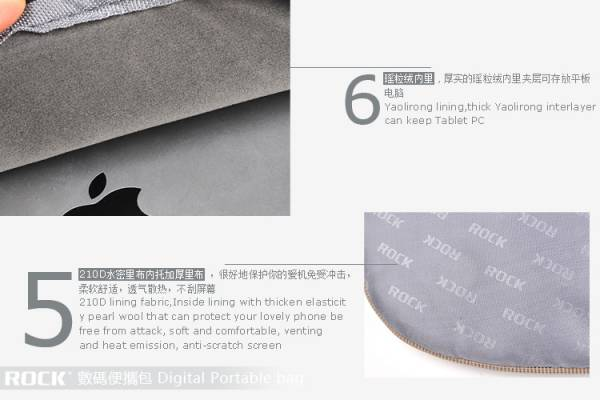 Túi đựng iPad Rock Digital Portable Bag 4