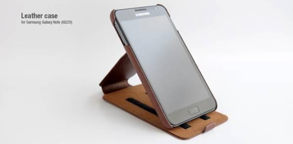 Bao da Samsung Galaxy Note i9220 Hoco chính hãng 2