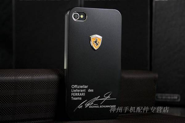 Ốp lưng iPhone 4 Ferrari 1