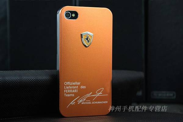 Ốp lưng iPhone 4 Ferrari 6