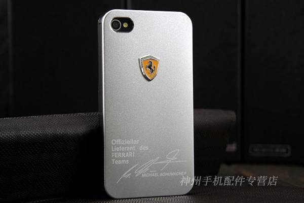 Ốp lưng iPhone 4 Ferrari 8