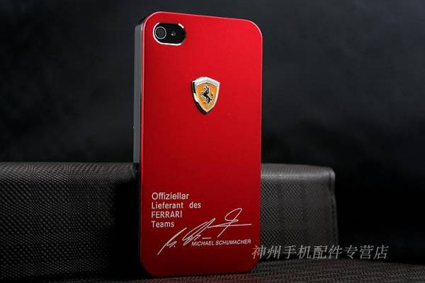 Ốp lưng iPhone 4 Ferrari 10