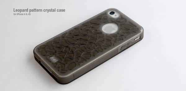 Ốp lưng iPhone 4 Hoco Leopard pattern crystal case 4