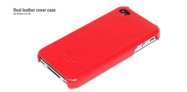 Ốp lưng iPhone 4 Hoco Open Face Case da 3