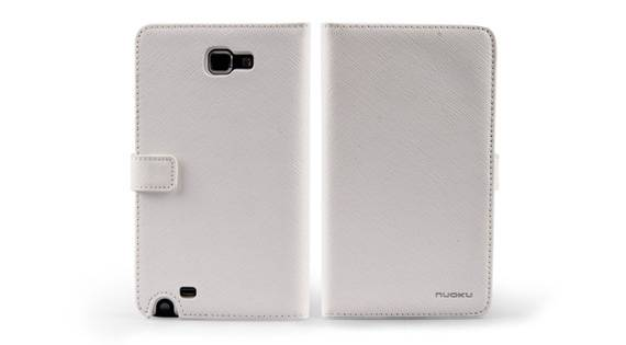 Bao Da Samsung Galaxy Note i9220 mở ngang Book Genuine 4