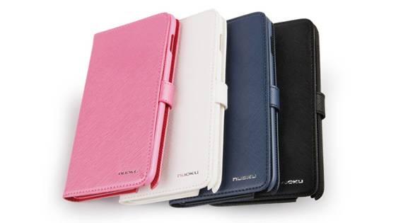 Bao Da Samsung Galaxy Note i9220 mở ngang Book Genuine 7