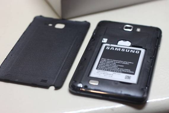 Bao Da Samsung Galaxy Note i9220 Flip Cover 2