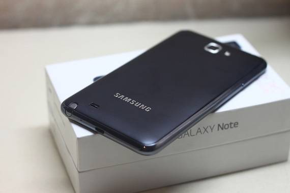 Bao Da Samsung Galaxy Note i9220 Flip Cover 3