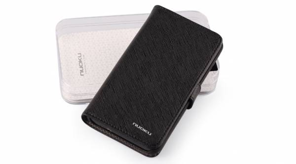 Bao da Samsung Galaxy S2 i9100 mở ngang Nuoku Book Genuine 5