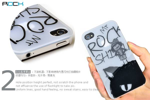 Ốp lưng iPhone 4 / 4S Rock Mr Rock - Kiểu 2 3