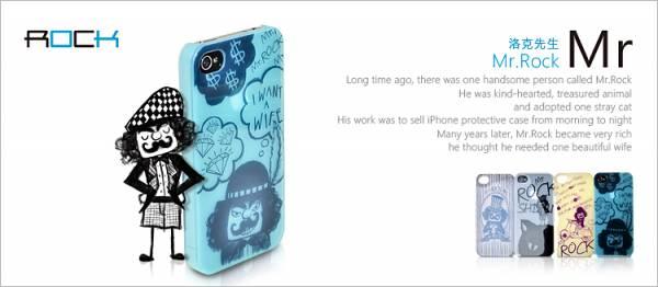 Ốp lưng iPhone 4 / 4S Rock Mr Rock - Kiểu 3 1