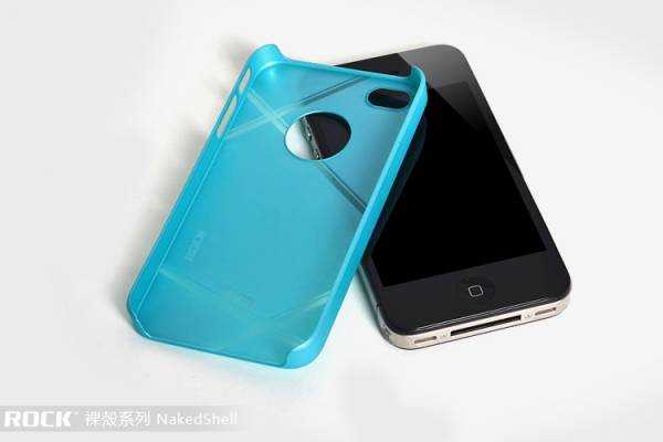 Ốp lưng iPhone 4 / 4S Rock Naked Shell 14