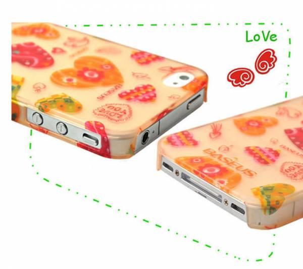 Ốp lưng iPhone 4 / 4S Baseus Romance Case 1