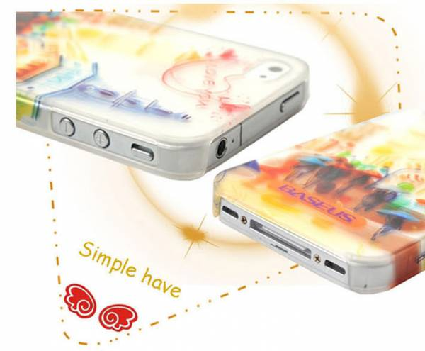Ốp lưng iPhone 4 / 4S Baseus Romance Case 2