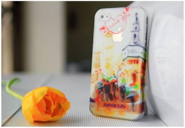 Ốp lưng iPhone 4 / 4S Baseus Romance Case 3