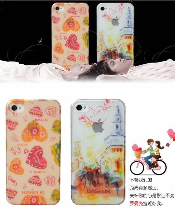 Ốp lưng iPhone 4 / 4S Baseus Romance Case 7