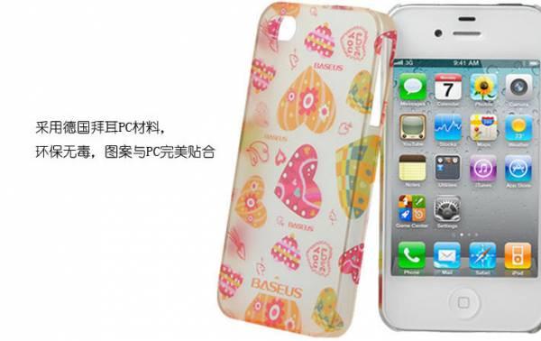 Ốp lưng iPhone 4 / 4S Baseus Romance Case 8