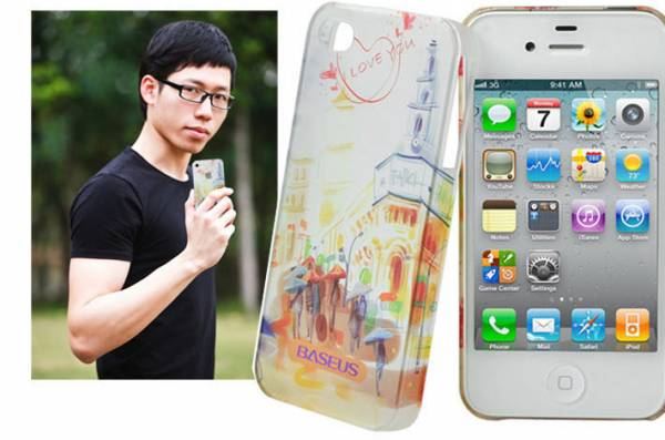 Ốp lưng iPhone 4 / 4S Baseus Romance Case 9