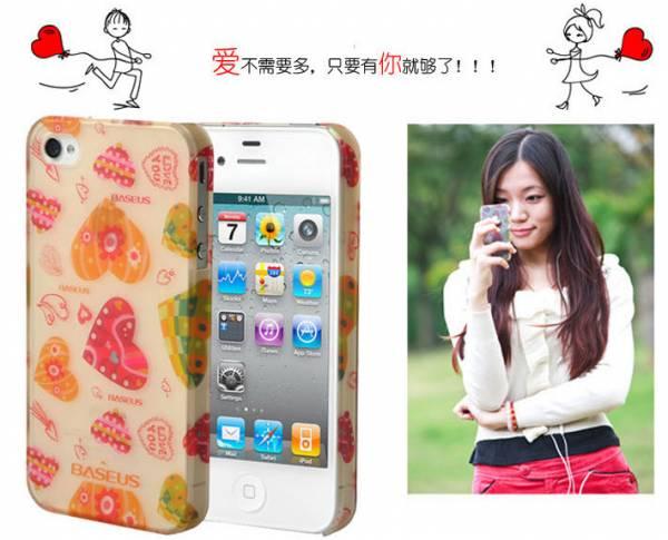 Ốp lưng iPhone 4 / 4S Baseus Romance Case 10