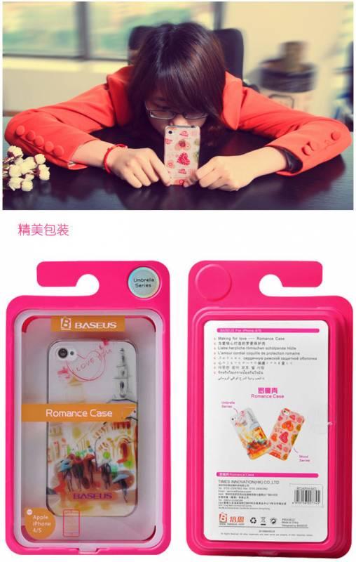 Ốp lưng iPhone 4 / 4S Baseus Romance Case 11