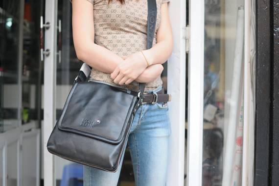 Túi xách da đựng iPad Mont Blanc - kiểu 1 1