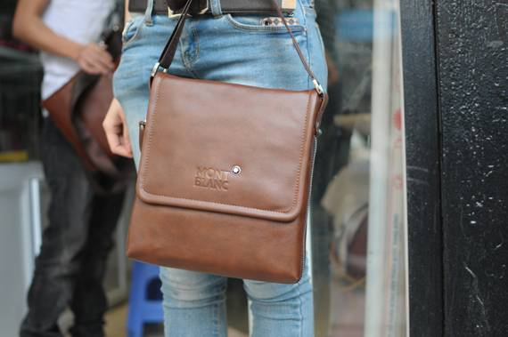Túi xách da đựng iPad Mont Blanc - kiểu 1 2