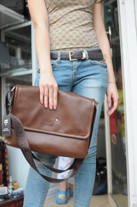 Túi xách da đựng iPad Mont Blanc - Kiểu 5 1