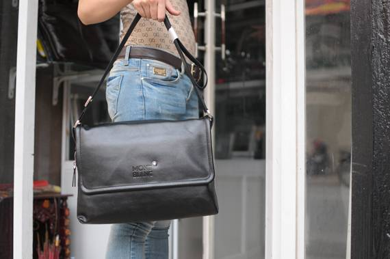 Túi xách da đựng iPad Mont Blanc - Kiểu 5 3