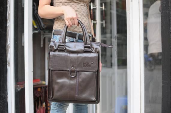 Túi xách da đựng iPad Mont Blanc - Kiểu 6 1