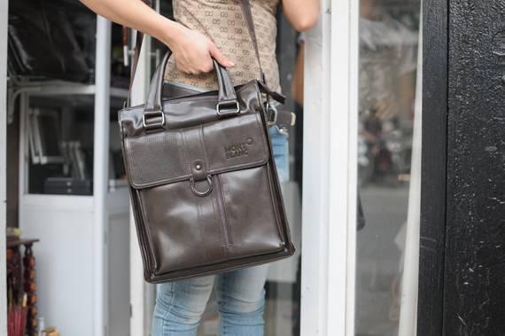Túi xách da đựng iPad Mont Blanc - Kiểu 6 2
