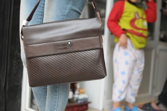 Túi xách da đựng iPad Mont Blanc - Kiểu 7 1