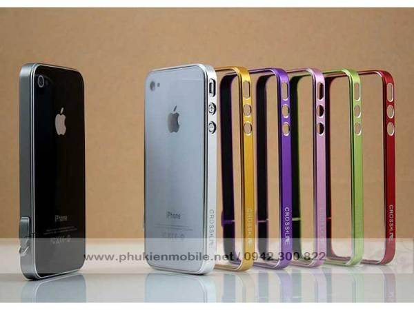 Viền iPhone 4/4S Crossline siêu mỏng 1