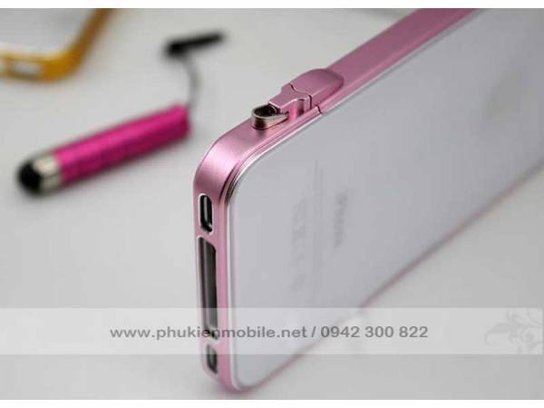 Viền iPhone 4/4S Crossline siêu mỏng 5