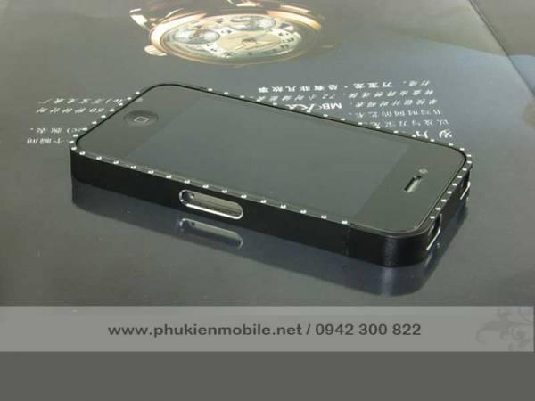 Viền iPhone 4/4S Crossline đính đá 10