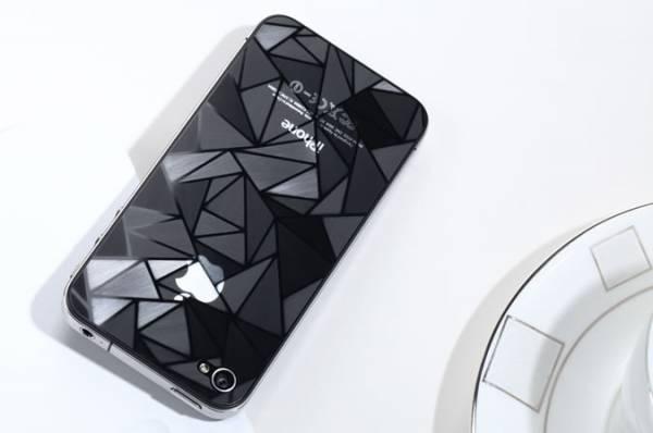 Miếng dán lứng 3D cho iPhone 4/4S Diamond 2