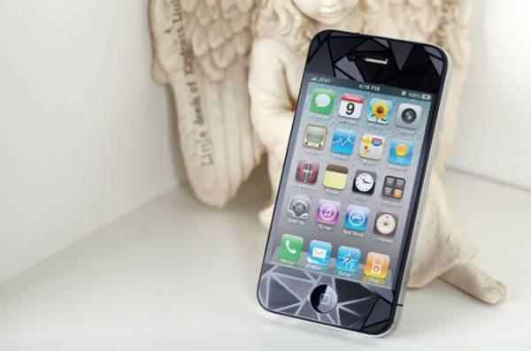 Miếng dán lứng 3D cho iPhone 4/4S Diamond 4