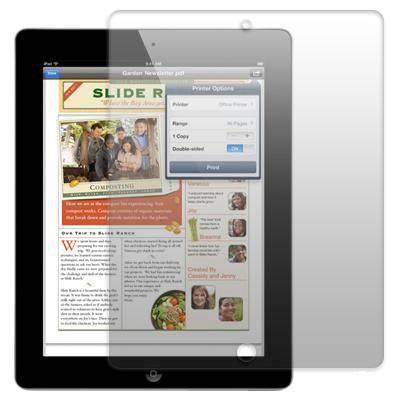 Miếng dán màn hình trong suốt cho iPad 2 2