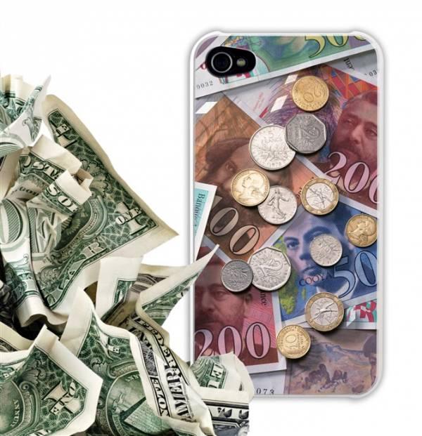 Ốp lưng iPhone 4 / 4S Cooya phản quang 2