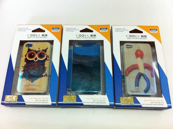 Ốp lưng iPhone 4 / 4S Cooya phản quang 5