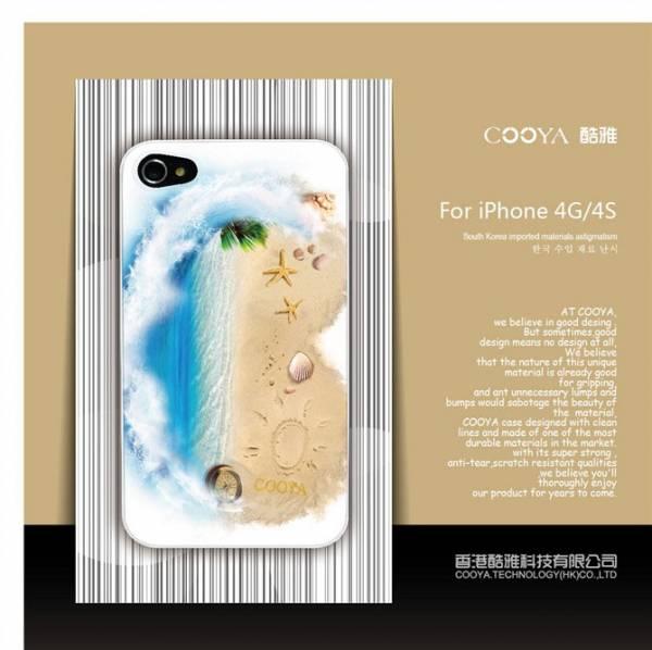 Ốp lưng iPhone 4 / 4S Cooya phản quang 9