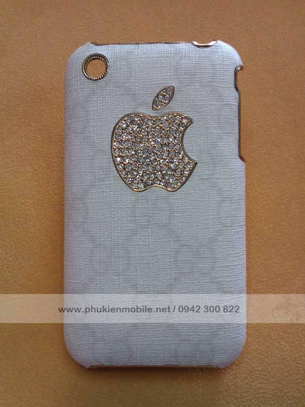 Ốp lưng cho iPhone 3G / 3GS đính đá Gucci 1