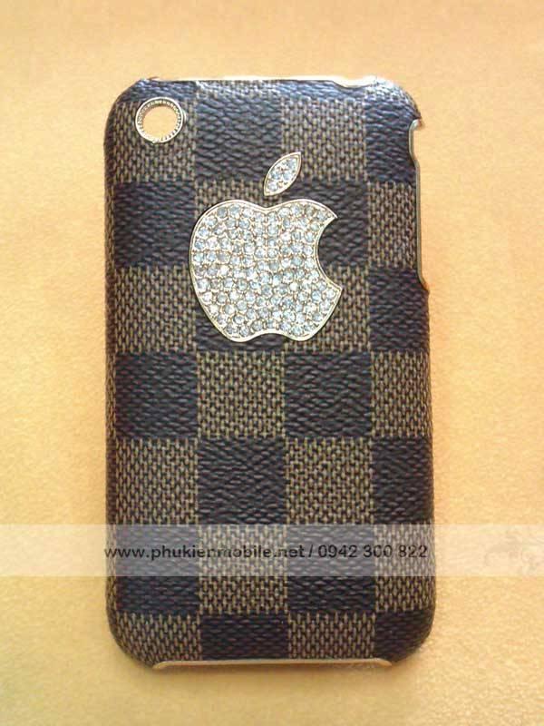Ốp lưng cho iPhone 3G / 3GS đính đá LV 1