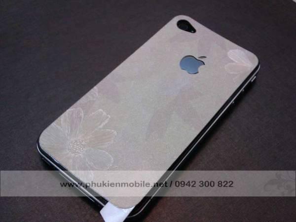 Miếng dán lưng thời trang cho iPhone 4 / 4S 3