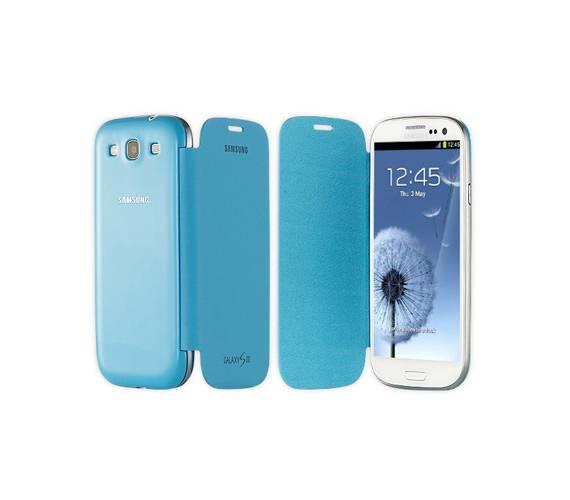 Bao da Samsung Galaxy S3 i9300 Flip Cover chính hãng 4