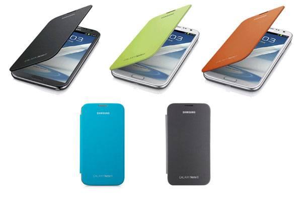 Bao da Samsung Galaxy Note 2 N7100 Flip Cover chính hãng 1