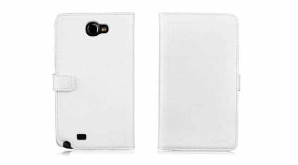 Bao da Samsung Galaxy Note 2 N7100 mở ngang Nuoku Book 3