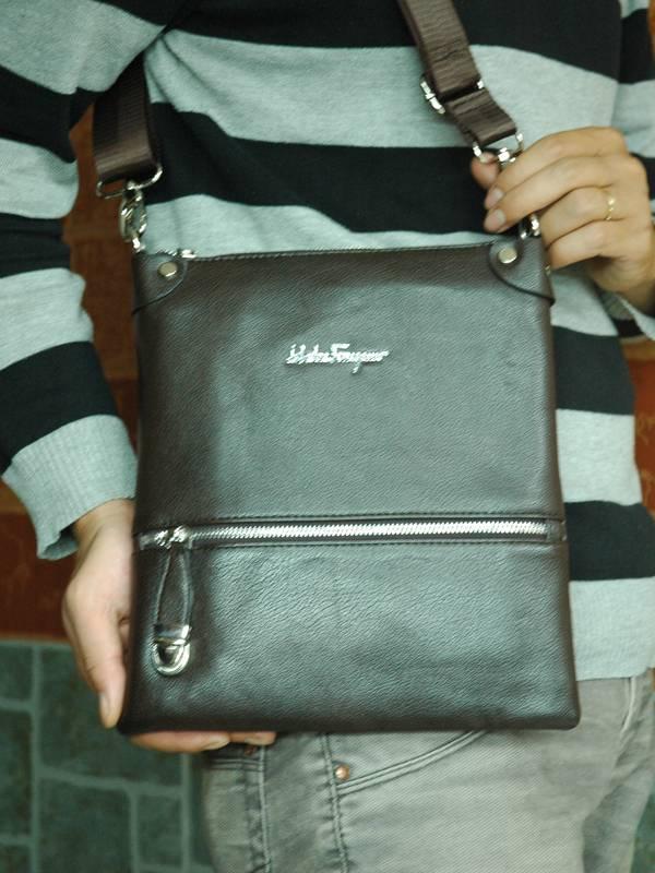 Túi xách da đựng iPad Salvatore Ferragamo - Kiểu 5 1